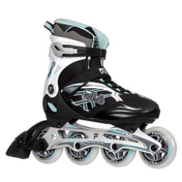 Fila Skates Argon 84 Lady Womens Inline Skates 2017, Black-White-Light Blue, 256
