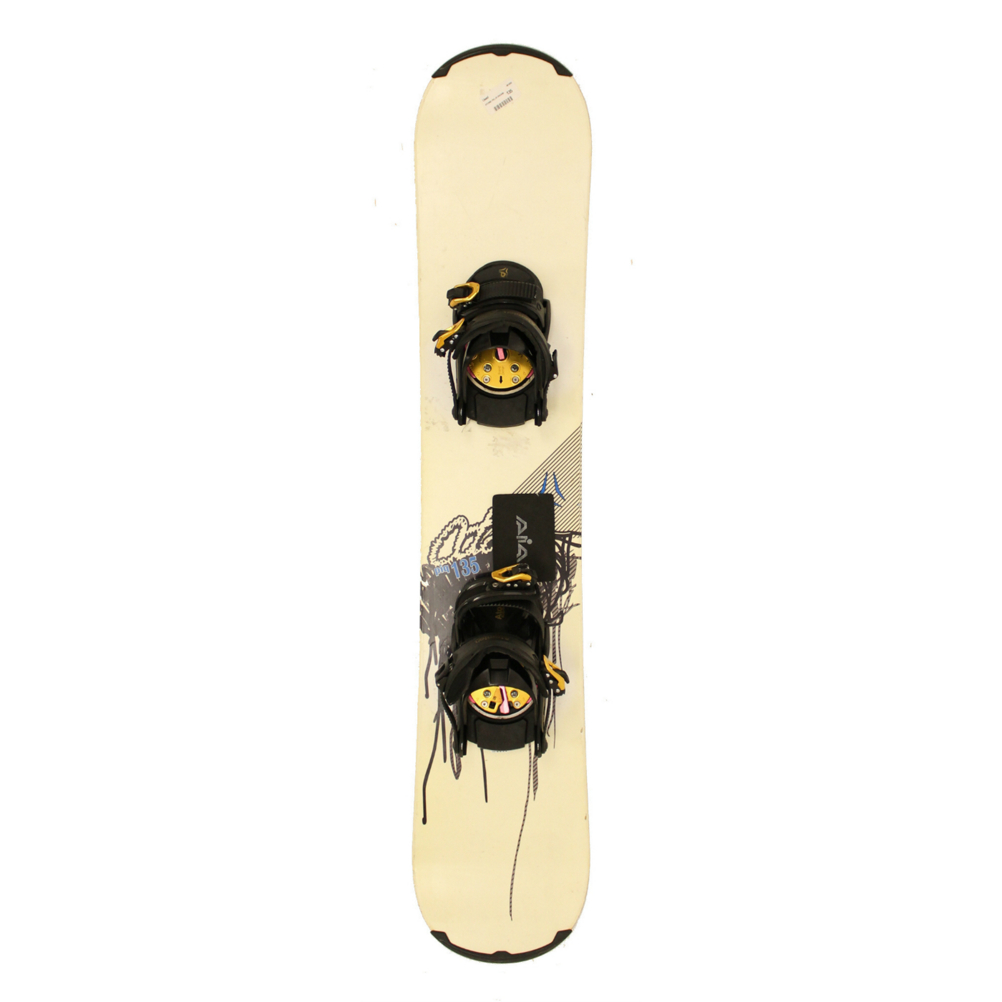 Used Atomic PIQ Youth Size Snowboard With AIA Bindings A SALE