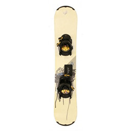 Used Atomic PIQ Youth Size Snowboard With AIA Bindings A, , 256