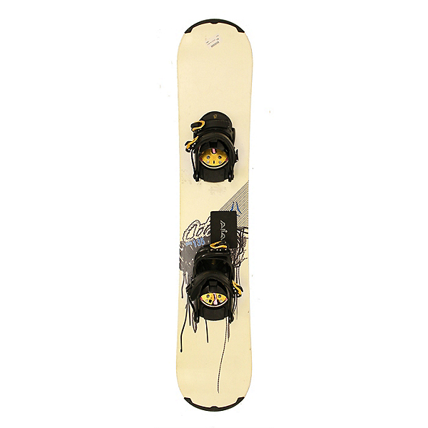 Used Atomic PIQ Youth Size Snowboard With AIA Bindings A, , 600