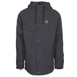 ThirtyTwo Knox Mens Shell Snowboard Jacket, Black, 256