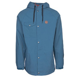 ThirtyTwo Knox Mens Shell Snowboard Jacket, Blue, 256