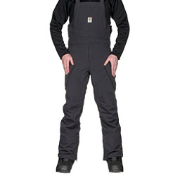 ThirtyTwo Basement Bib Mens Snowboard Pants, Black, 256