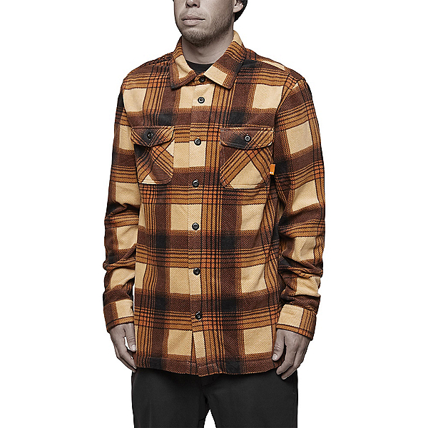 ThirtyTwo Reststop Polar Fleece Mens Shirt, Tan, 600