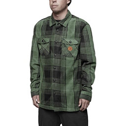 ThirtyTwo Reststop Polar Fleece Mens Shirt, Forrest, 256