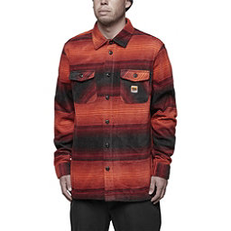 ThirtyTwo Reststop Polar Fleece Mens Shirt, Oxblood, 256