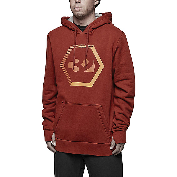 ThirtyTwo Marquee Mens Hoodie, Oxblood, 600