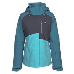 Orage Nina Womens Insulated Ski Jacket, Cyan, 256