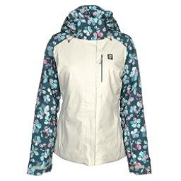 Orage Nina Womens Insulated Ski Jacket, Flower Quilt, 256