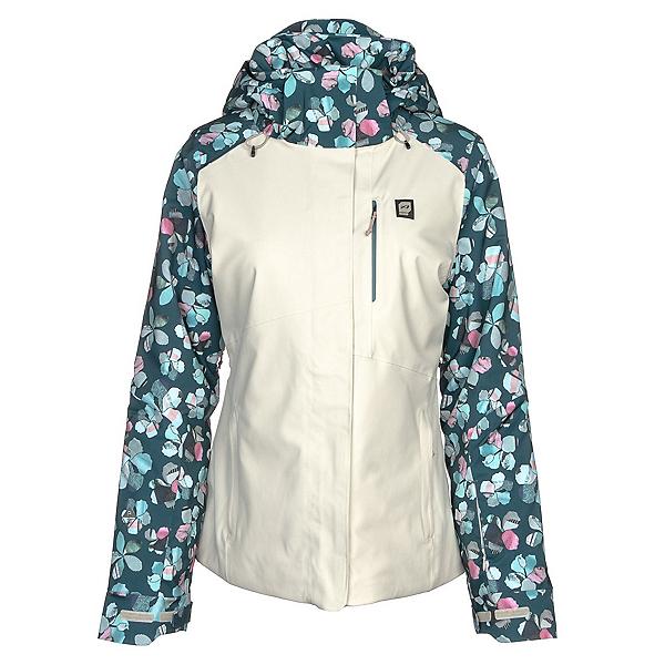 Orage Nina Womens Insulated Ski Jacket, Flower Quilt, 600