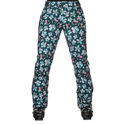 Orage Chica Womens Ski Pants, Flower Quilt, 256