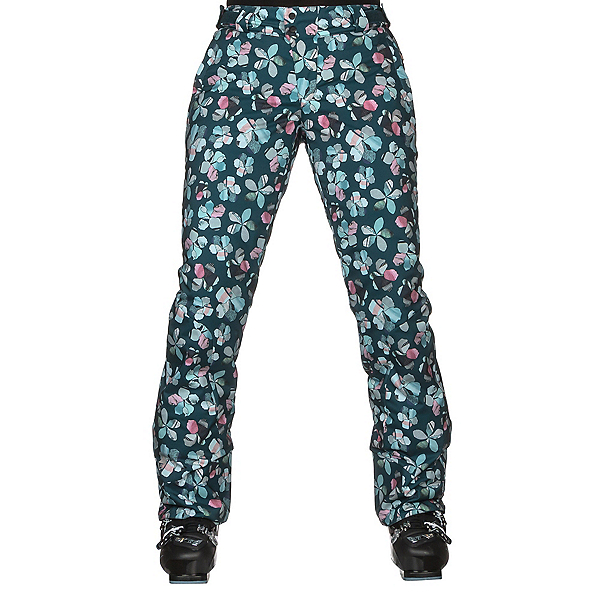Orage Chica Womens Ski Pants, Flower Quilt, 600