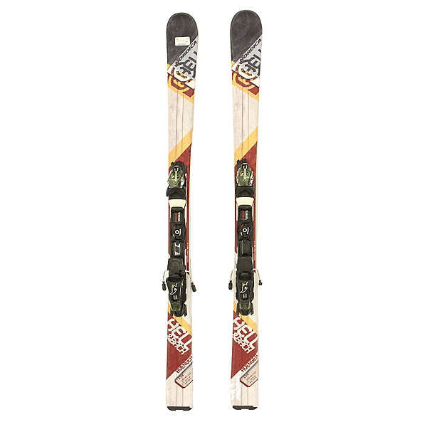 Used 2014 Mens Nordica Hell & Back With Nordica ADU Bindings C, , 600