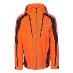 Karbon Aluminum Mens Insulated Ski Jacket, Pylon-Black-Olympic Blue, 256