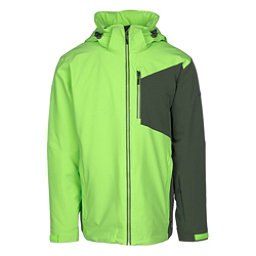Karbon Radar Mens Insulated Ski Jacket, Acid-Jungle-Jungle-Acid-Pu Fil, 256