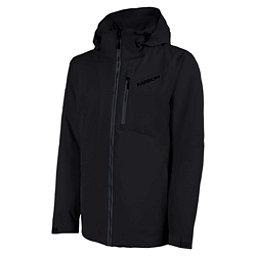Karbon Radar Mens Insulated Ski Jacket, Black-Charcoal-Black, 256