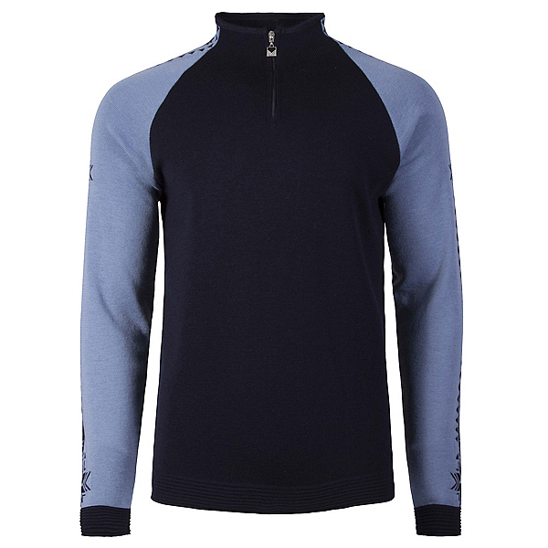 Dale Of Norway Geilo Masculine Mens Sweater, Navy-Blue Shadow, 600