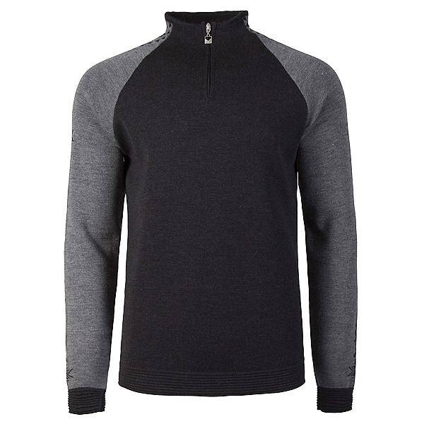 Dale Of Norway Geilo Masculine Mens Sweater, Dark Charcoal-Smoke, 600