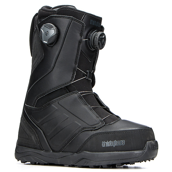 ThirtyTwo Lashed Double Boa Snowboard Boots 2018, Black, 600