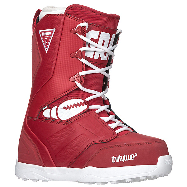 ThirtyTwo Lashed Crab Grab Snowboard Boots, Red, 600