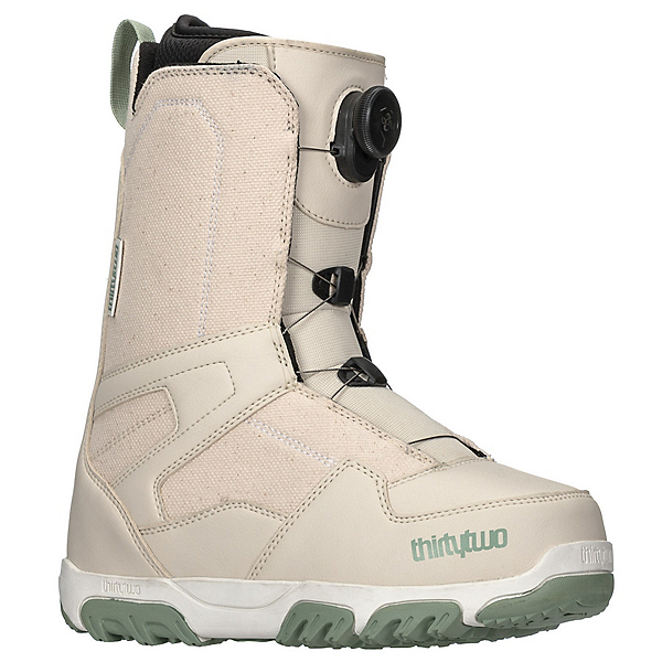 ThirtyTwo Shifty Boa Womens Snowboard Boots 2018, Beige, 600