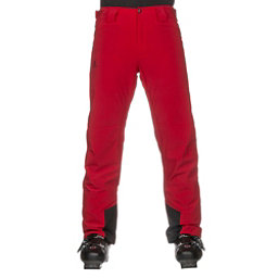 Salomon Icemania Mens Ski Pants, Barbados Cherry, 256