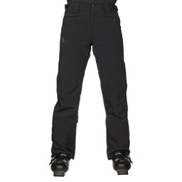 Salomon Icemania Mens Ski Pants, Black, 256