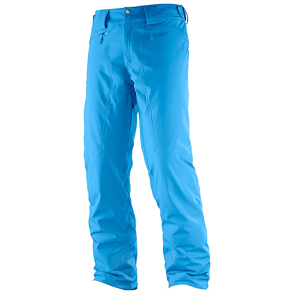 Salomon Icemania Mens Ski Pants 2018, Hawaiian Surf, 600