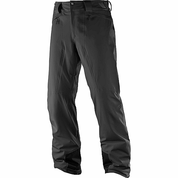Salomon Icemania Short Mens Ski Pants, Black, 600