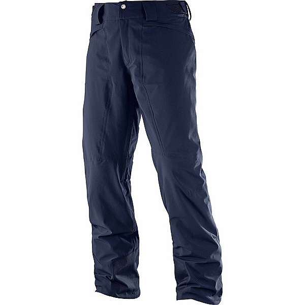 Salomon Icemania Short Mens Ski Pants, Night Sky, 600