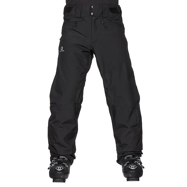 Salomon Fantasy Mens Ski Pants, Black Heather, 600