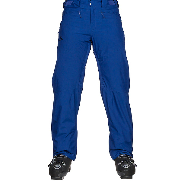 Salomon Fantasy Mens Ski Pants, Surf The Web Heather, 600