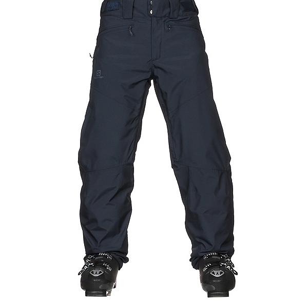 f73d7db16e Salomon Fantasy Mens Ski Pants, Night Sky Heather, 600