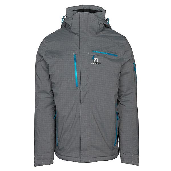Salomon Brilliant + Mens Insulated Ski Jacket, , 600