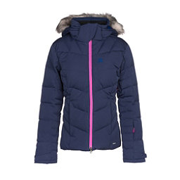 Salomon Icetown w  Faux Fur Womens Insulated Ski Jacket e11cbe2d8