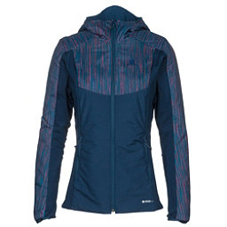 Salomon Drifter Hoodie Womens Mid Layer, Medieval Blue, 256