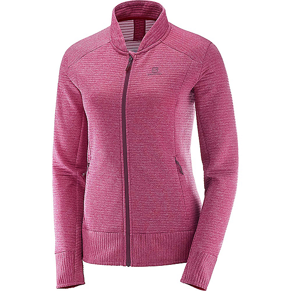 Salomon Right Nice FZ Womens Mid Layer, , 600