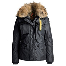 Parajumpers Denali Real Fur Womens Jacket, Black, 256