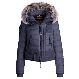 Parajumpers Skimaster Real Fur Womens Jacket, Navy, 256