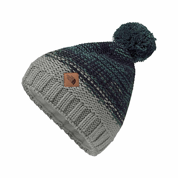 The North Face Antlers Beanie, Monument Grey-Conquer Blue-Urb, 600
