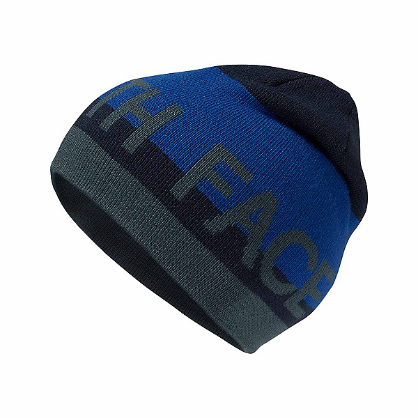 The North Face Anders Beanie Kids Hat, Cosmic Blue-Bright Cobalt Blue, 600