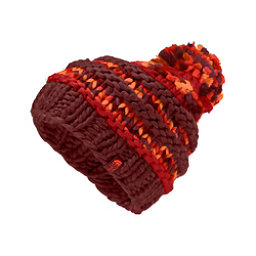 The North Face Nanny Knit Beanie Womens Hat, Barolo Red, 256