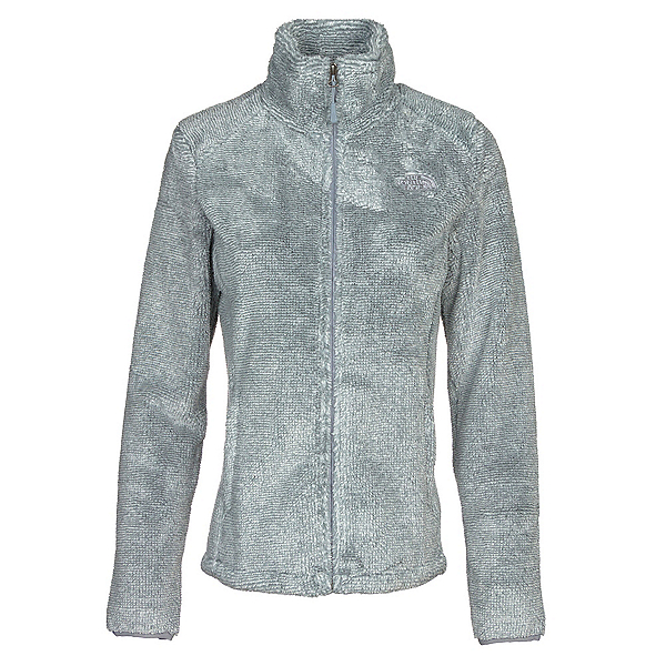 The North Face Osito 2 Womens Jacket, High Rise Grey-Mid Grey Stripe, 600