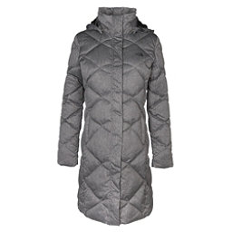 The North Face Miss Metro Parka Womens Jacket, TNF Dark Grey Herringbone, 256
