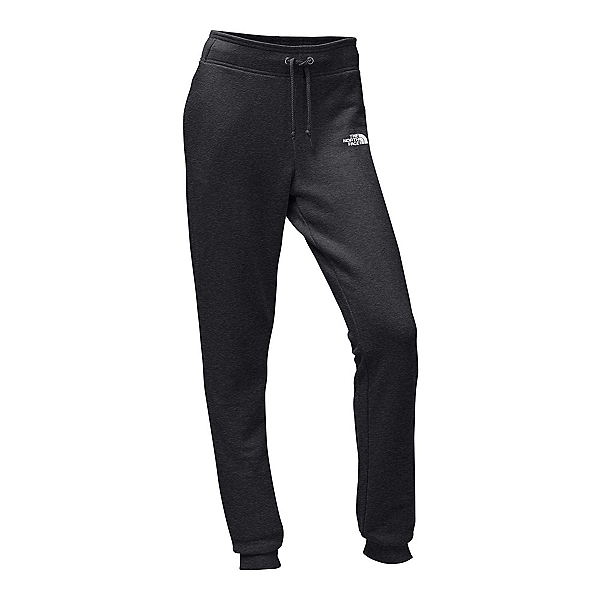 The North Face French Terry Womens Pants, TNF Dark Grey Heather-TNF Whit, 600