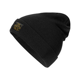 The North Face Dock Worker Beanie Hat, TNF Black-Arrowwood Yellow, 256