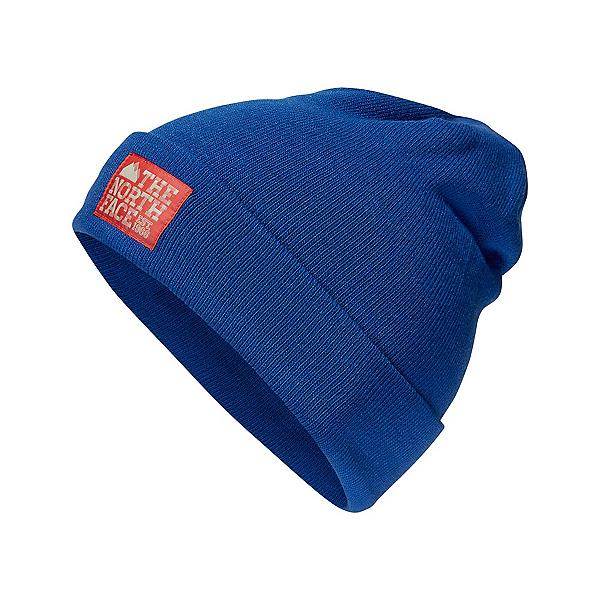 The North Face Dock Worker Beanie Hat, Bright Cobalt Blue-Centennial, 600