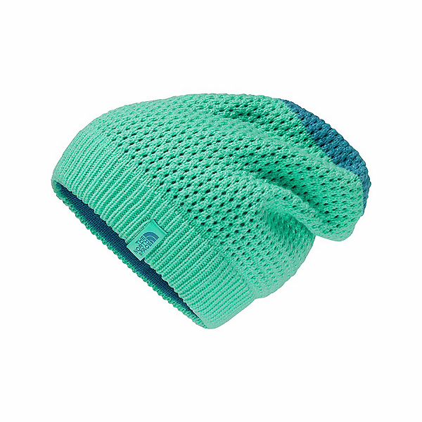 The North Face Shinsky Beanie Kids Hat (Previous Season), Bermuda Green-Blue Moon, 600