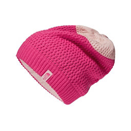 The North Face Shinsky Beanie Kids Hat, Petticoat Pink-Purdy Pink, 256