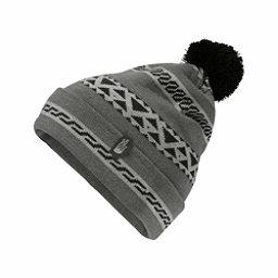 The North Face Ski Tuke V Hat, Monument Grey Woolen Print, 256